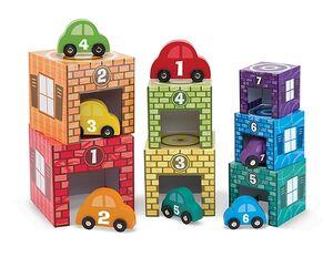 M&D - Colocar y clasificar - 7 garajes y 7 coches