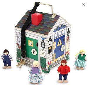 M&D - Casita de puertas con timbres