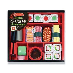 Melissa & Doug - Juego de Sushi de madera