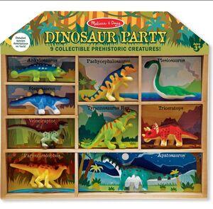 Melissa & Doug Pack 9 dinosaurios