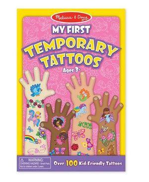 M&D - Mis primeros Tatuajes Temporales Rosa
