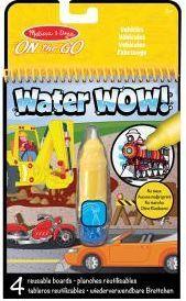M&D - Water wow! colorea con agua (vehículos)
