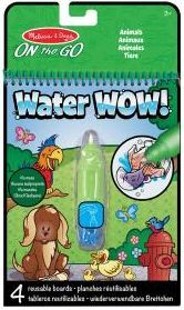M&D - Water wow! colorea con agua (Animales)