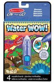 M&D- Water wow! Colorea con agua dinosaurios
