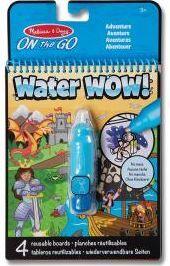 M&D - Water wow! colorea con agua (Aventuras)