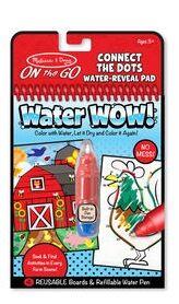 M&D - Water wow! colorea con agua (granja para conectar puntos)