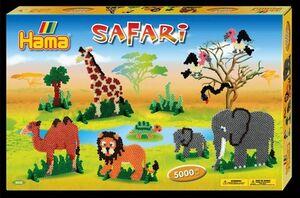 Hama- caja reglo Safari