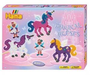 Hama- caja regalo Unicornios Mágicos