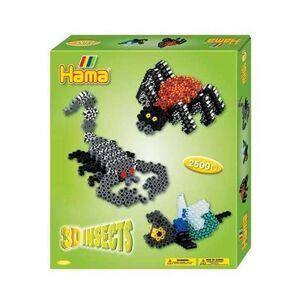 Hama - caja regalo 3D insectos