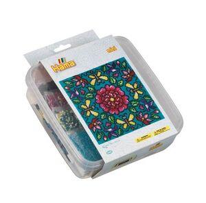 Hama- caja de plastico Mosaico mini-Flores