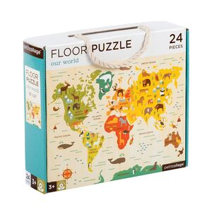 Petitcollage - Puzzle Our World 24p