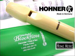 Flauta dulce Hohner verde