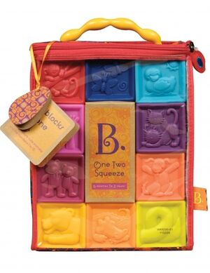 B. - 10 cubos blanditos