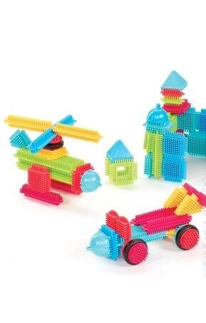 Bristle blocks - Bote 80 piezas