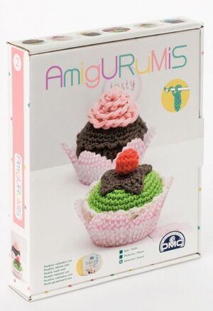 Amigurumis - Cupcakes (ganchillo, nivel avanzado)