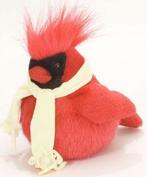 WR - pájaro invierno rojo