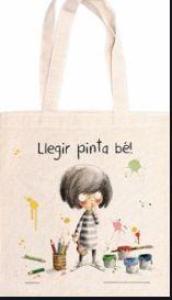 BOLSA DE TELA LLEGIR PINTA BE