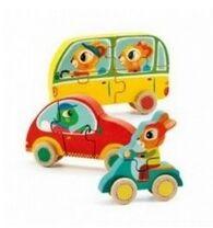 Djeco - puzzle Jacko&Co 4-5-6 pzs