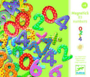 Djeco - Números magnéticos 38 piezas