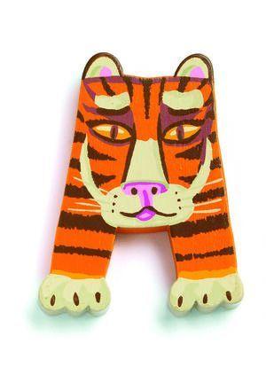 Djeco Letra A (tigre)