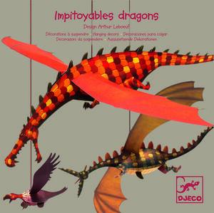 Djeco - Colgante Dragones despiadados