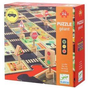 Djeco - Puzzle Gigante La Ciudad -24 pzas.-