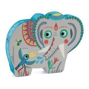 Djeco - p. Silueta Haathe elefante 24pzas