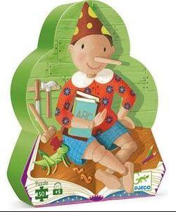 Puzzle Silueta Pinocchio