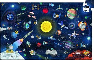 Djeco - Puzzle observación El Espacio (200 piezas)