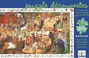 Djeco - Puzzle Equitación