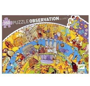 Djeco Puzzle observación Historia 350pzas