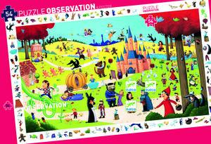 Djeco - Puzzle observación Los cuentos