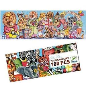 Djeco - Puzzle Galería Fiesta del Rey -100 pzas.-