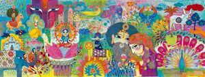 Djeco- Puzzle Galería India Mágica
