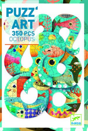 Djeco - Puzzle Puzz'art Octopus (350 piezas)