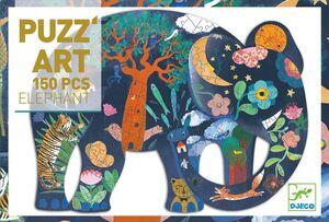 Djeco - Puzzle Art Elefante -150 pzas.-