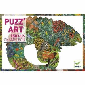 Djeco - Puzzle Art Camaleón 150 piezas
