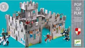 Castillo medieval 3D Pop to play