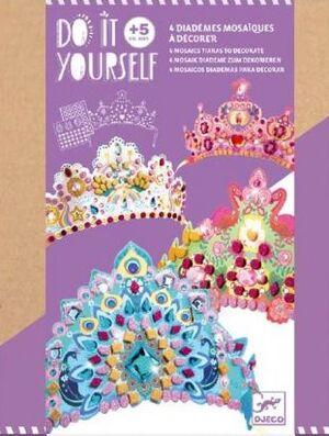 Djeco - Diademas para decorar Princesa