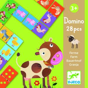 Djeco - Domino granja 28 piezas