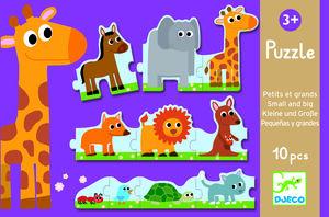 Djeco - Puzzle Pequeños y Grandes