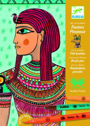 ROTULADORES PINCEL ARTE EGIPCIO