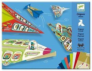 Djeco Papiroflexia Origami aviones