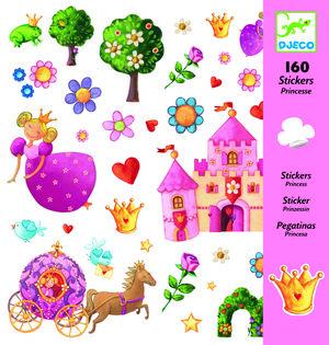 Djeco - Pegatinas princesa margarita