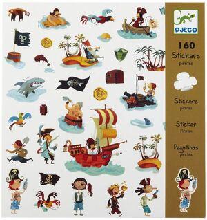 Djeco - pegatinas Piratas