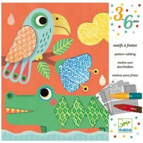 Djeco - Dibujos para colorear Los amigos de Magalí