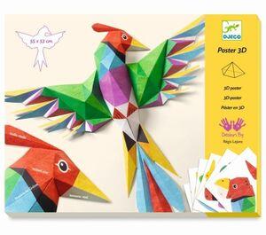 Djeco  - Póster 3D Amazonia