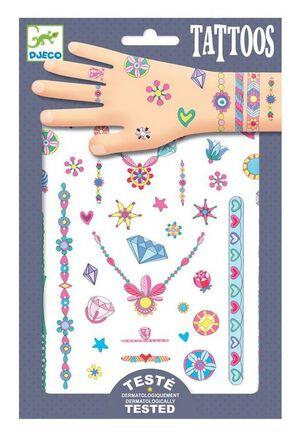 Djeco - Tatuajes Las joyas de Jenni