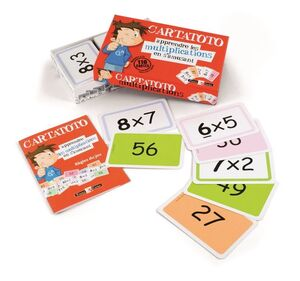 Baraja Cartatoto Multiplicaciones - aprende a multiplicar divirtiéndote