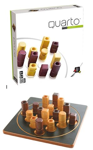 Gigamic Quarto madera (juego de mesa)